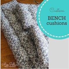 Custom Cushions Bench Cushions Window Seat Cushions Box Window Seat Cushions, Dining Room Chair Cushions, Outdoor Chair Cushions, Bench Cushions, Floor Cushions, Pillows, Box Cushion, Cushion Fabric, French Dining Chairs
