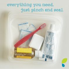 Traveling? Ditch the plastic and use #stasherbag! #reusable #plasticfree #earthfriendly
