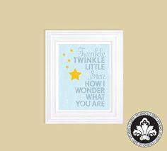 twinkle TWINKLE LITTLE STAR print Children's by StudioLO2011, $25.00