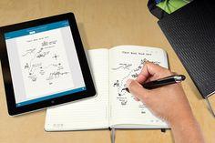モレスキンが、Livescribe社のスマートペンに対応したノートを発売する。
