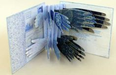 Hands on Paper, Gail Stiffe. Greetings from India. 2007 artist books