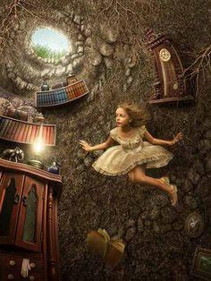 Down down down the rabbit hole!