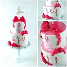 Hannah Joy's Cakes creates custom cakes, cupcakes, cookies, and bouquets. Ballet Cakes, Ballerina Cakes, Ballerina Birthday, Girl Birthday, Birthday Ideas, Hand Painted Cakes, Drip Cakes, Custom Cakes, Beautiful Cakes
