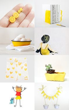 Calm yellow day by Tugce and Hakan on Etsy