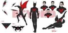 Batman Beyond Redesign by Zac Roane