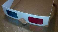 Doctor Who 3D Glasses - Tenth Doctor Cosplay Prop. (So I can see void-stuff)