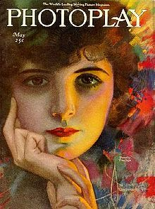 May 1921 issue of Photoplay, fan magazine cover, by Rolf Armstrong