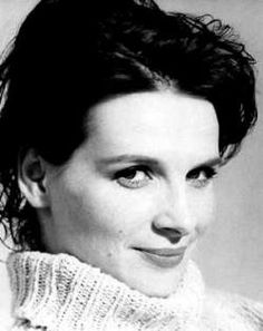 Juliette Binoche | Black and white photography