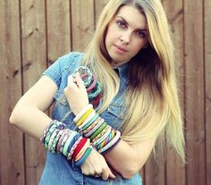 WEBSTA: 30 bracelets for 30 days were made!!! First I would like to thank you for all you likes comments and super nice words and interest to my work. I'm really satisfied with the result. I even don't want to stop so as I said at my first post to this project when you do something for 21 day it becomes your habit - it is!!! The last day of this month was the hardest. As I had to organize everything from bracelets to working space and space for photos I had to take pictures of all these…