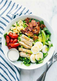 4ddaf3d866c7069c5c364588a1a8fd5c - Cobb Salad - A delic