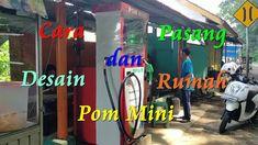 Cara Pasang Dan Desain Rumah Pom Mini Sederhana Neon Signs, Digital, Mini