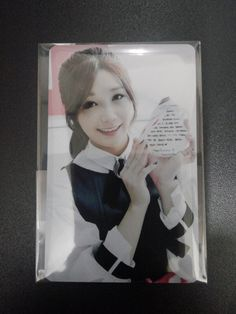 Apink fancafe christmas photocard eunji naeun photo card poster album cd kpop