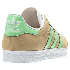 the latest 3b7f8 0dba5 Gazelle 2 TanSuper Green Adidas Retro Sneakers, Adidas Shoes, Adidas Og,