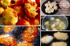 Beignets au chou-fleur : recette facile - La Recette Beignets, Tandoori Chicken, Ethnic Recipes, Food, Buffet, Meal, Eat, Cooking Food, Sprouts