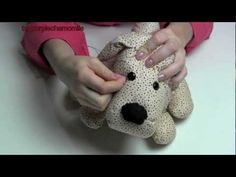 DIY - How to make a stuffed dog using pattern M4893. (HD available), My Crafts and DIY Projects
