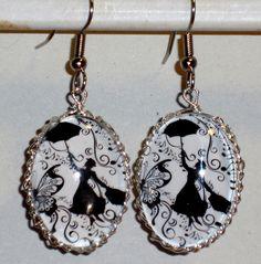 Ohrhänger - Ohrringe Mary Poppins Damen Ohrschmuck - ein Designerstück von ausgefallene-Ohrringe bei DaWanda