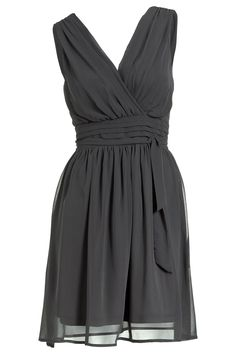 I love the shape and flow of this dress, except in violet