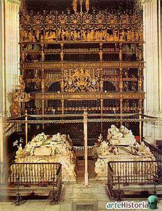Sepulcros de los Reyes Católicos y de don Felipe y doña Juana Catedral de  Granada