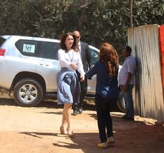 Crown Princess Mary visits Ethiopia - Last Day. Crown Princess Mary of Denmark visited a hospital in Addis Ababa.