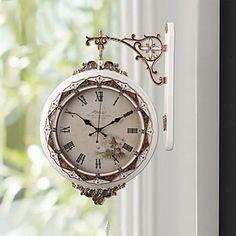 現代アートなモダン キャンバスアート 絵 壁 壁掛け 時計  壁時計 17.75型ウォールクロックハンギング 突き出し型 【納期】お取り寄せ2~3週間前後で発送予定【送料無料】ポイント