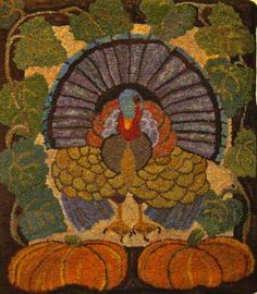 turkey Rug for Ruth Ann to do