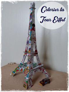 Bien connu Maternelle: Titi à PAris, graphisme, la tour Eiffel   france  HO36