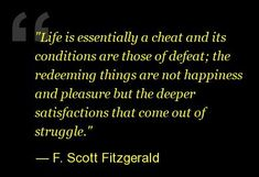 F. Scott Fitzgerald Quotes