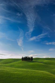Val d'Orcia, Province of Siena, Tuscany region Italy #italiantalks   http://www.italiantalks.com/e