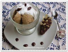 Takarékos konyha: Kávé fagylalt házilag /fagyi-gép nélkül/Blogjátékhoz! Pudding, Ice Cream, Desserts, Food, No Churn Ice Cream, Tailgate Desserts, Deserts, Icecream Craft, Essen