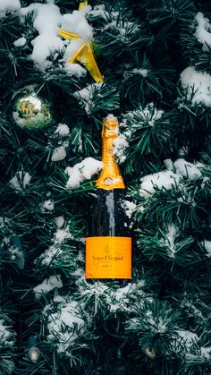 #ClicquotintheSnow