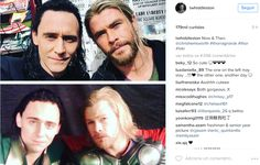 five years - Thor Ragnarok & Thor. Hiddleston looks SO YOUNG in the original Thor picture.
