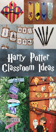 11 Harry Potter-Themed Classroom Decorations and Crafts: #homedecor #decoration #decoración #interiore