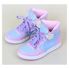 Harauku japanese cartoon little twin stars sneakers ❤ liked on Polyvore featuring shoes, sneakers, comic book, star sneakers, star shoes and comic shoes