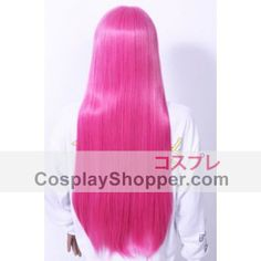 Adventure Time Princess Bubblegum Cosplay Wig | Pink 80cm Princess Bubblegum Wig from Adventure Time Princess Bubblegum Cosplay, Adventure Time Princesses, Cosplay Wigs, Natural Looks, Bubble Gum, Tulle, Parties, Costumes, Long Hair Styles