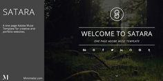 Satara - Creative One Page Adobe Muse Template