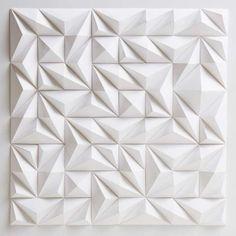 matthew shlian - paper art