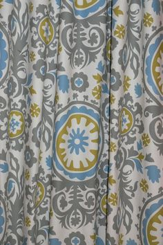 """CUSTOM CURTAINS - A pair of custom curtain 24"""" Wide X by up to 96"""" Long on Etsy, R$127,92"""