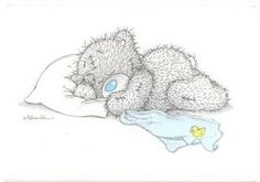 tatty teddy bear sleep