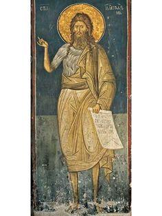 Byzantine Art, John The Baptist, Illuminated Manuscript, Little Sisters, Drapery, Ikon, Fresco, Mosaic, Saints