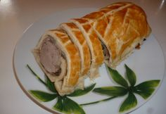 Szűzpecsenye Wellington baconnel