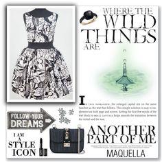 MAQUELLA 2/2 by mery66 on Polyvore featuring moda, Valentino, Pomellato, NYX and Sass & Belle