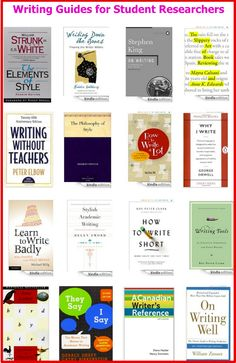 17 Excellent Writing Guides for Academics and Student Researchers ~ Educational Technology and Mobile Learning