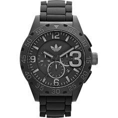 #AdidasOriginalsWatches, #FashionAccessories, #Watches - adidas originals Watches Newburgh Black with Black - adidas originals Watches Watches