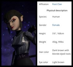 Karai's info