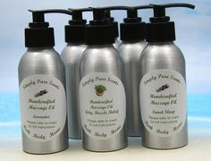 Massage Oil / Aromatherapy Massage Oil / by SimplyPureScents