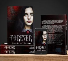 Forever - $60 for full book wrap and ebook cover including mockup. Great for your #vampire or #werewolf book. Or really any other sorts of #mystery or #supernatural story.  #bookcovers #indiebooks #custombookcover #custombook #ebooks #ebookcoverdesign #ebookcover #graphicdesigner #ilovebooks  #bookcoversforsale #bookstagram #writers #imwritingabook #indieauthor #indiewriter #photomanipulation #photoedits #authorsofinstagram #authorlife #art