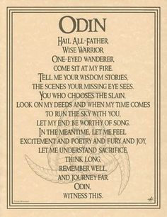 norse symbols | Odin Prayer... | Norway, Norse Symbols, Vikings, Norse Folklore, ... More