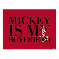 Mickey is My Boyfriend Posters