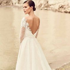 To say that we are excited about the new @mikaellabridal collection is a total understatement. We just saw it a couple of weeks ago and are already counting down the weeks/months until we get these dresses! Until then here is a sneak peak of one of our favorites! You all know we love our long-sleeve dresses and this one is beyond amazing!!! Oh Mikaella you have stolen our hearts again! #weddingdress #longsleeveweddingdress #wedding