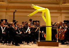 I have had concerts where I felt this way about a conductor...